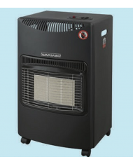 Stufa A Gas Infrarossi 4200 Watt A 3 Elementi 42x38xh73 Cm WARM UP