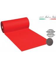 PASSATOIA MOQUETTE Rossa H100 AL MT tappeto  pavimento natale NATALIZIA