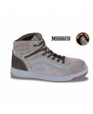 N 41- BETA 7368 scarpa da lavoro antinfortunistica HI S3 SRC HRO PELLE BEIGE METAL FREE