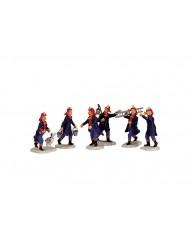 Set Pompieri VILLAGGIO DI NATALE LEMAX 02446 - Fireman Set