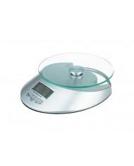Bilancia da cucina 5kg grigia digitale - divisione 1gr
