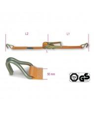 FASCIA Cinghia di ancoraggio a cricchetto Beta Robur 8182 50mm 2,5T 8,5mt