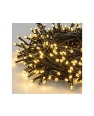 LUCI 500 LED SUPERBRIGHT BIANCO CALDO 35.5 m+4 m cavo 31v - decorazione Natale