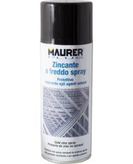 ZINCO ZINCANTE RIVESTIMENTO PROTETTIVO  SPRAY FREDDO -  400 ML - MAURER