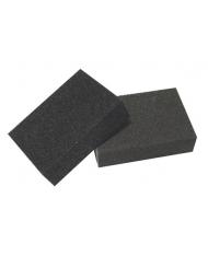 10 SPUGNE ABRASIVE 95X70X25 GRANA media - spugna abrasiva
