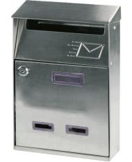 91559 - Cassetta postale in acciaio inox  POSTA PER ESTERNI LETTERE rivista