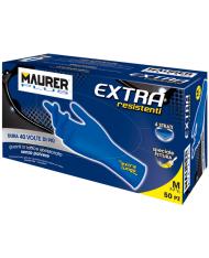 GUANTI MONOUSO LATTICE EXTREME MAURER TG XL-- 50PZ