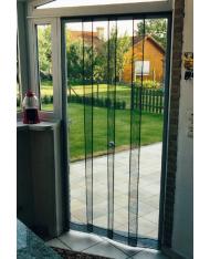Tenda ZANZARIERA A PANNELLI VERTICALI SanGiorgio- cm 120x240H zanzariere  porta finestra