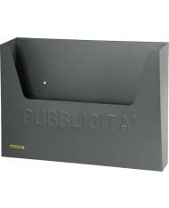 CASSETTA PER PUBBLICITA MAURER ANTRACITE 34X8X26H CM