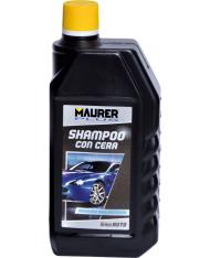 SHAMPOO-DETERGENTE PER AUTO 1LT CON CERA MAURER PLUS