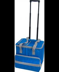 BORSA TERMICA 38LT a trolley IN PVC POLIESTERE 38X29X37H -