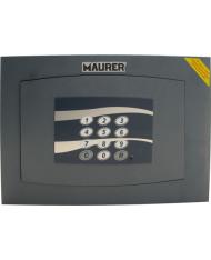 CASSAFORTE A MURO ELETTRONICA  MAURER 36x23x20CM - TAGLIO LASER 8MM