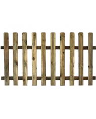 Recinto in legno di pino cm 180x100h - STACCIONATA - recinzione