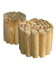 Staccionata rollborder cm 5x200x20h - in legno di pino impregnato in autoclave