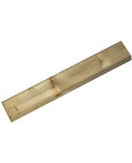 Palo montante cm 7x7x120h in legno impregnato - per staccionata o cancelletto