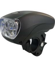 FANALE LUCE anteriore PER BICICLETTA BICI  LED - A BATTERIA - MAURER - MTB