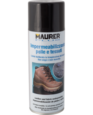 IMPERMEABILIZZANTE 400ml SPRAY PER TESSUTI E PELLI MAURER PLUS