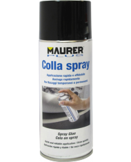 COLLA SPRAY REMOVIBILE/PERMANENTE MAURER - PER STENCIL FOTO TESSUTO - 400ml