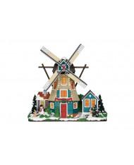 Mulino vento - VILLAGGIO DI NATALE Windmill 25333 LEMAX