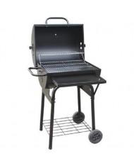 Barbecue BBQ a carbone carbonella coperchio 2 ruote 63x68xH100cm EL GAUCHO TEXAS