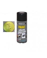 Bomboletta vernice Spray GIALLO METALLIZZATO - 400ml - TEKNICA 17-0504