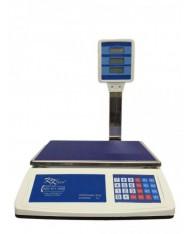 Bilancia elettronica con braccio LCD max 50 kg - digitale - display anche lato cliente