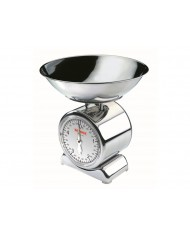 Leifheit - Bilancia pesa alimenti meccanica Silvia 5kg - acciaoo Inox