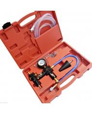 Tester radiatore con spurgo vuoto e set ricarica - PERDITE E CAMBIO E LIQUIDO