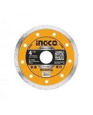 DISCO DIAMANTATO 115MM A UMIDO - BOX DA 10 - DMD021152M - INGCO