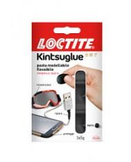 Loctite Kintsuglue Pasta Modellabile Flessibile 3 x 5 g riparazioni NERO