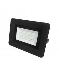 lampada LED CON STAFFA  50W SVILUPPO 285W NERO  -- 4250 LUMEN- 6000K COD. FL5830