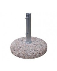 Base ombrellone graniglia d.60 kg 55 con palo d.52 interno - Venezia