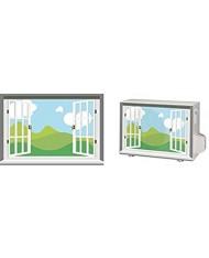012 Cover copertura per climatizzatore unita esterna 80x60cm - con microfori brevettata - mod. finestra