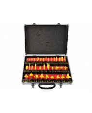 SET 35 FRESE PER PANTOGRAFO FRESATRICE GAMBO 8mm - KIT 35pz - per legno