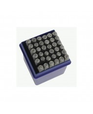 Set punzoni alfanumerici 36pz da 8mm - LETTERE + NUMERI