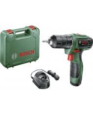 Bosch Home and Garden EasyDrill 1200 Trapano avvitatore a batteria 12 V 1.5 Ah Li-Ion incl. batteria ricaricabile, incl