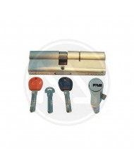 CILINDRO EUROPEO AD INFILARE - MOIA MADE IN ITALY - 5 CHIAVI + 2 CANTIERE + CARD