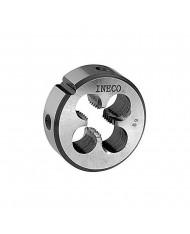 FILIERA PASSO GROSSO AL CROMO E25 M4X0,7--- INECO--  filiera tonda