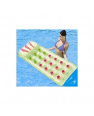 Materassino gonfiabile mare piscina 188 x 71 cm 18 buchi lounge 43015 Bestway
