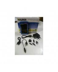 CARICABATTERIE SOLARE PER CELLULARE SMARTPHONE MP3 MP4 2600mA/h