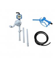art.168/B/C - Pompa travaso rotativa per fusti per urea con contalitri e pistola -  BONEZZI