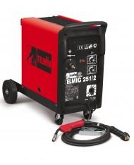 SALDATRICE FILO CONTINUO TELMIG 251/2 TURBO TELWIN MIG/MAG GAS- cod. 821070