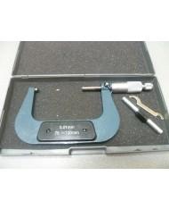 MICROMETRO ANALOGICO CENTESIMALE 75 ÷ 100 mm -micrometro palmer