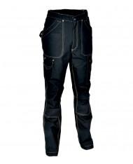 TG56 - Cofra Pantalone DUBLIN  multitasche 250 grM2 TECNICO DA LAVORO NERO