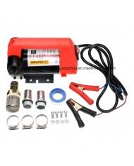POMPA 12V per travaso olio gasolio 260w - 36lt/min elettropompa con accessori