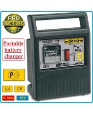 CARICABATTERIE  MACH 119 Deca 12V - MAX 120AH -  Carica Batterie MIN/MAX