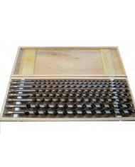 Set 8 punte per LEGNO a torciglione lunghezza 600mm - 6/20mm