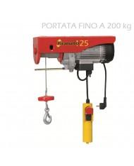 PARANCO ELETTRICO EUROPEA 450 W TIRATUTTO 125/250 KG VERRICELLO