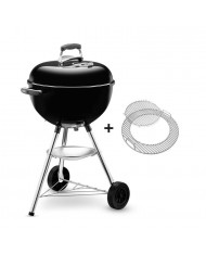 1231504 WEBER BARBECUE B-  KETTLE  GBS 47cm BLACK A CARBONELLA