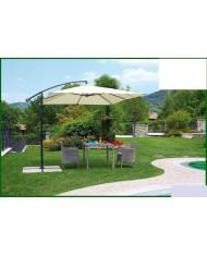531361 - Ombrellone giardino alluminio QUADRATO mt 3x3 multiposizione basculante
